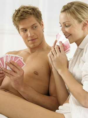 wife strip poker