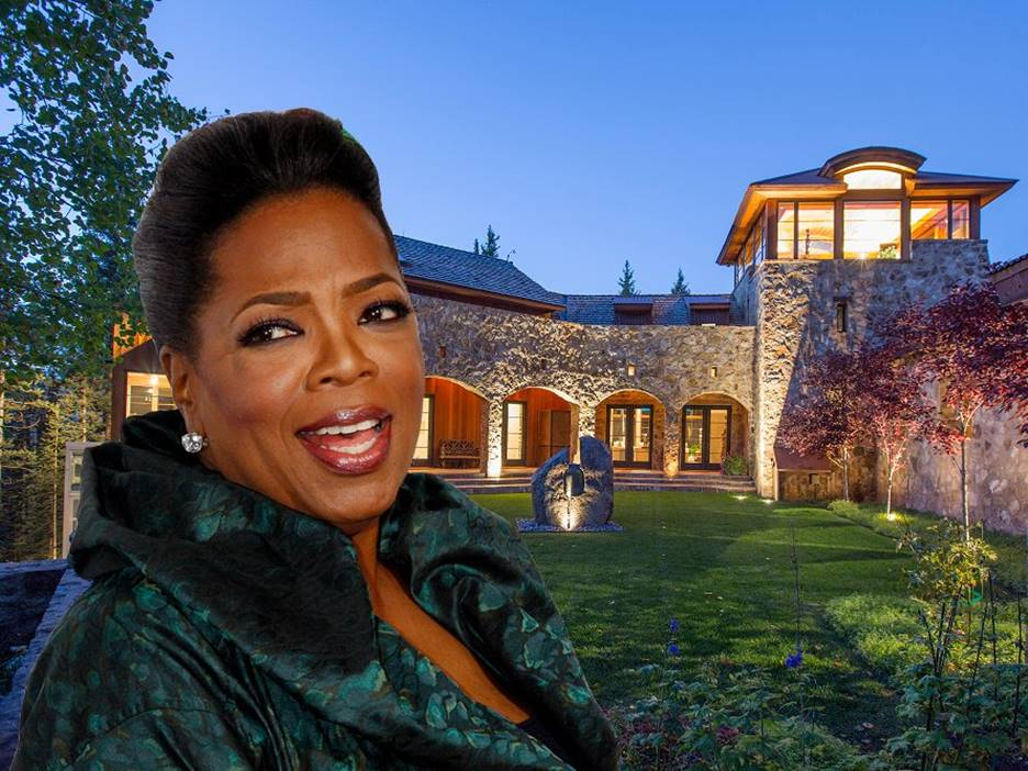 Oprah Winfrey's House is One with Nature